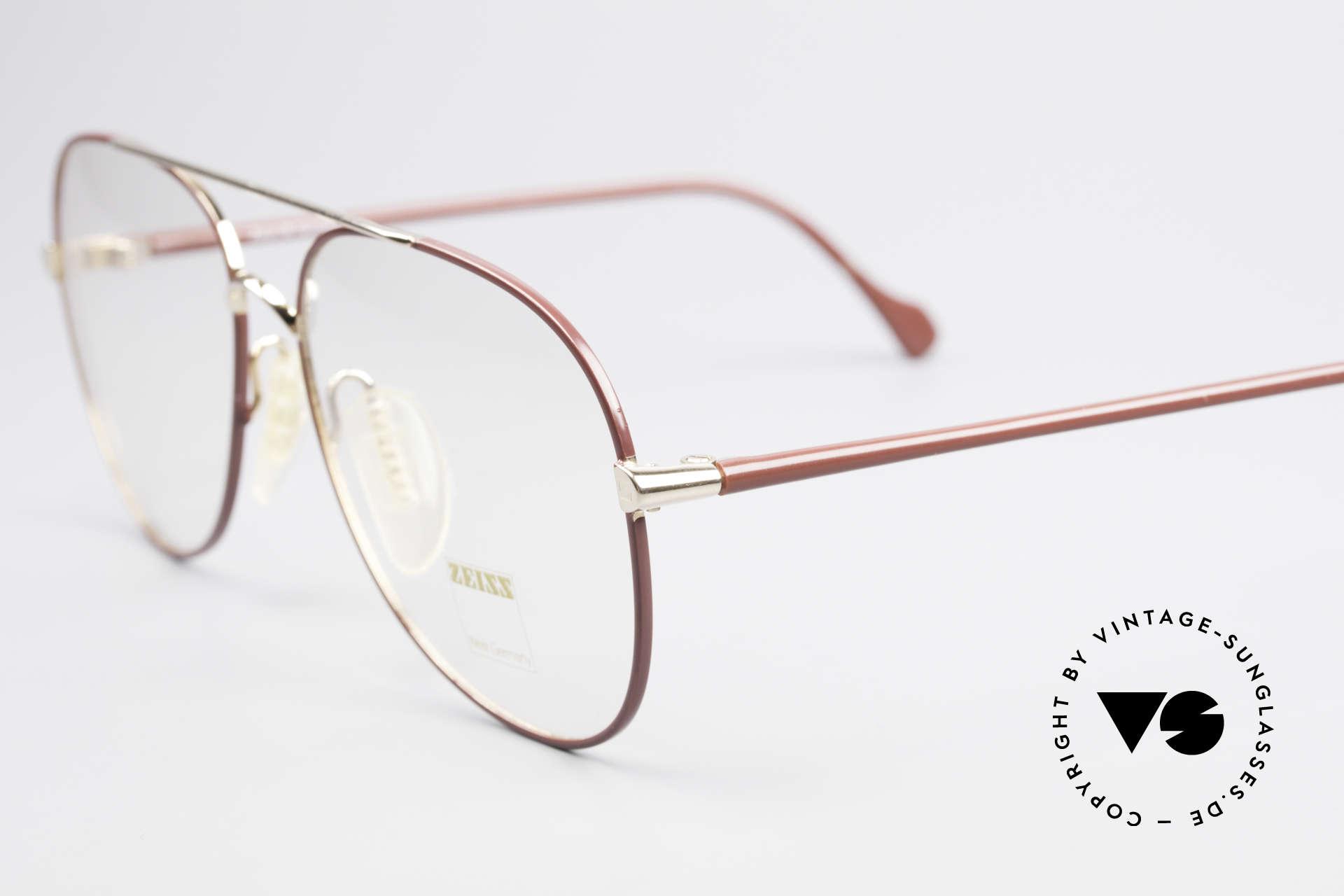 Zeiss 5882 Old 80's Eyeglass-Frame Men, unworn (like all our high-end Zeiss vintage eyewear), Made for Men