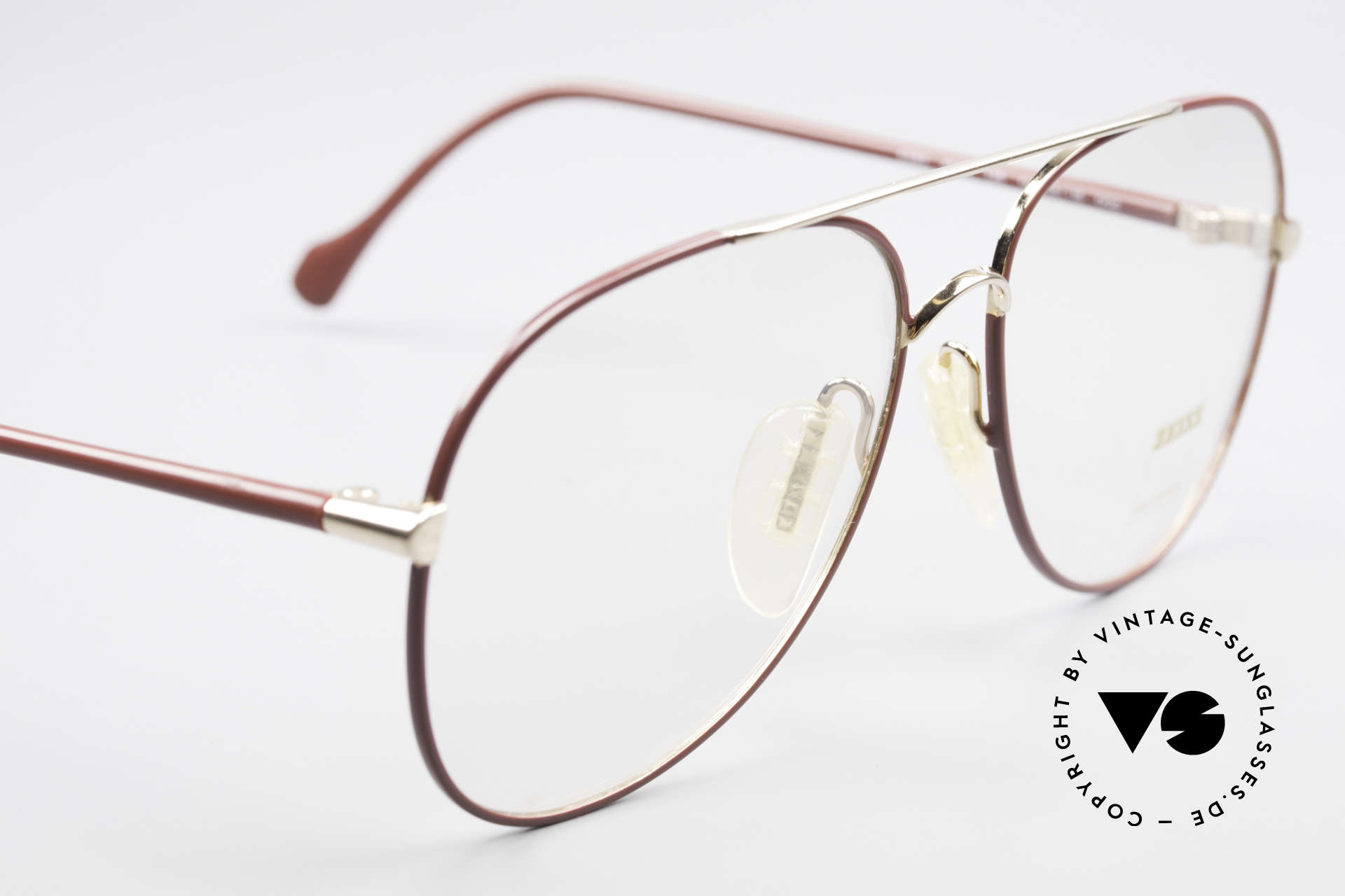 Zeiss 5882 Old 80's Eyeglass-Frame Men, NO RETRO specs, but a genuine 30 years old original, Made for Men