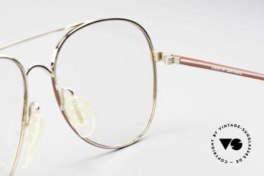 Zeiss 5882 Old 80's Eyeglass-Frame Men, frame is made for optical lenses or tinted sun lenses, Made for Men