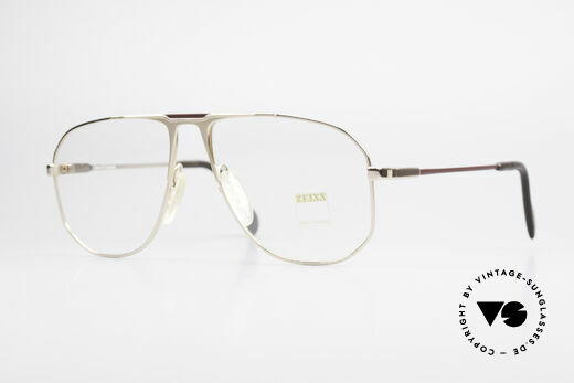 Zeiss 5871 80's West Germany Frame Men Details