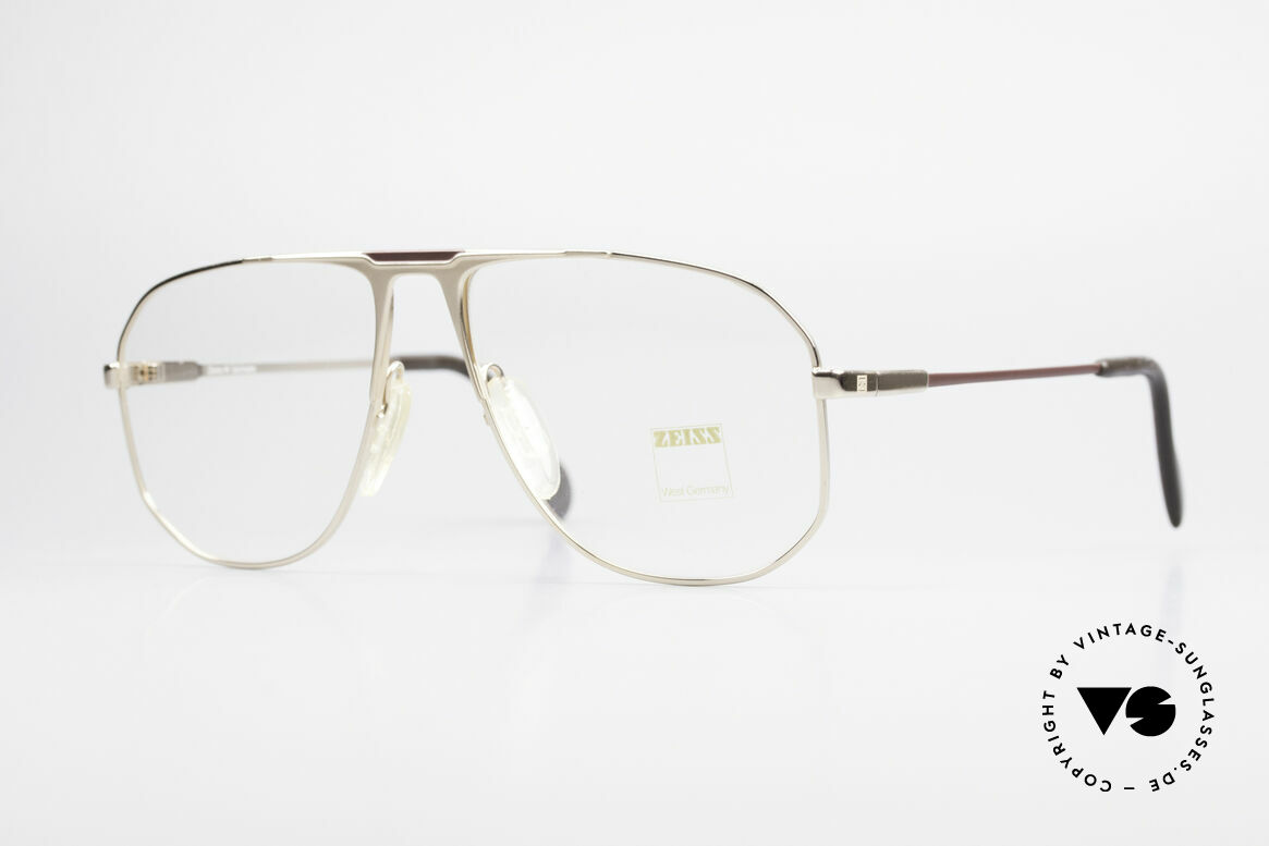 Zeiss 5871 80's West Germany Frame Men, very sturdy vintage eyeglasses by Zeiss from app. 1981, Made for Men