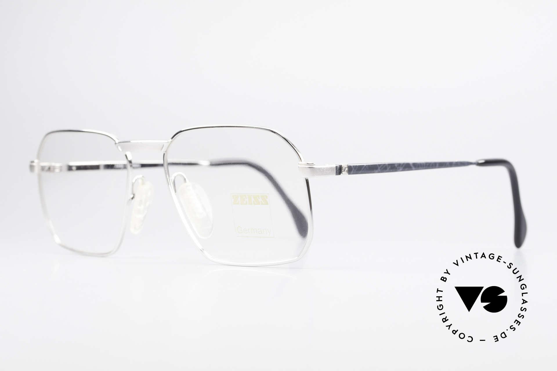 Zeiss 5922 Rare Old 90's Eyeglasses Men, monolithic design & flexible spring hinges: top comfort, Made for Men