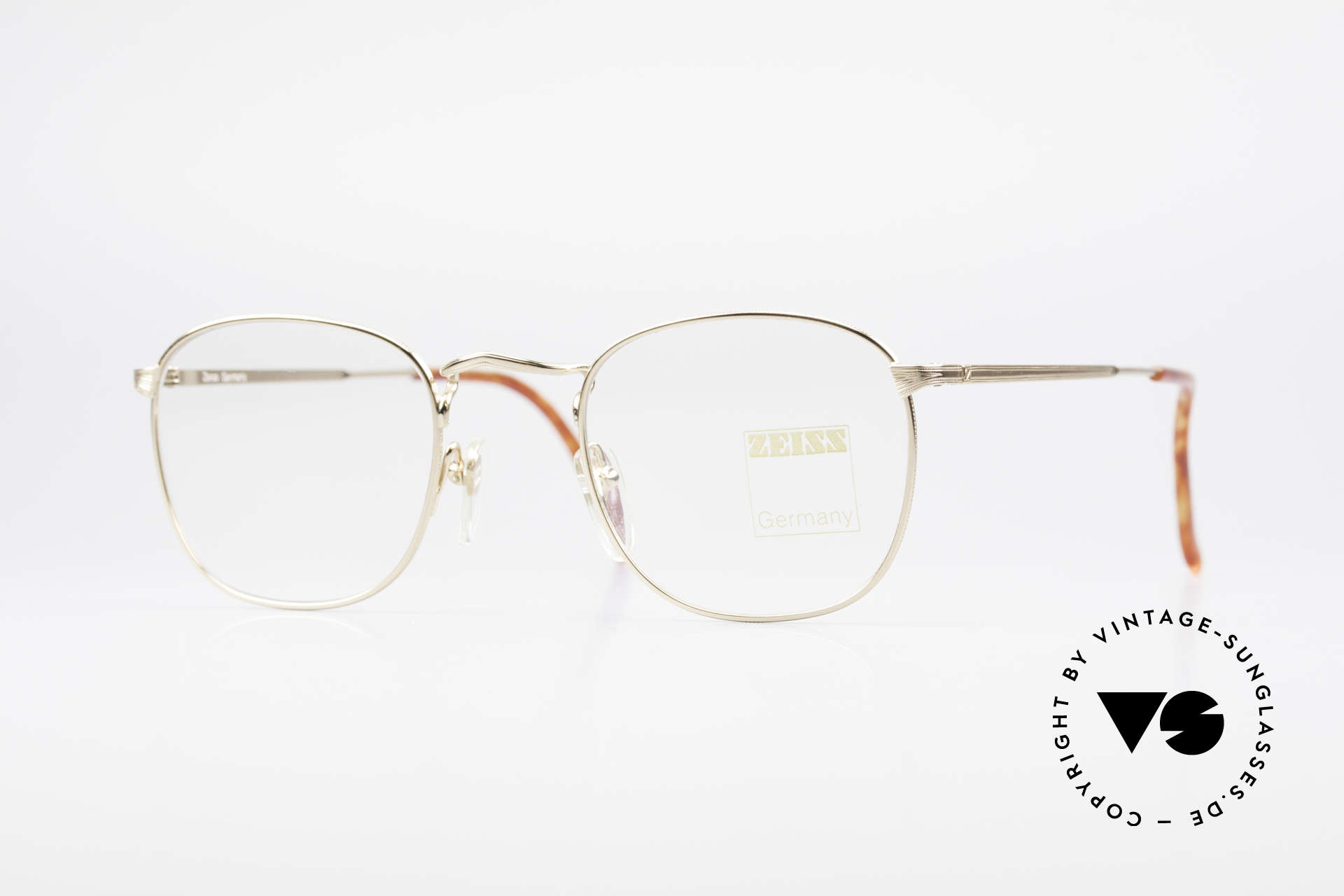 Zeiss 5988 Old Vintage 90's Glasses Men, sturdy vintage eyeglass-frame by Zeiss from app. 1990, Made for Men