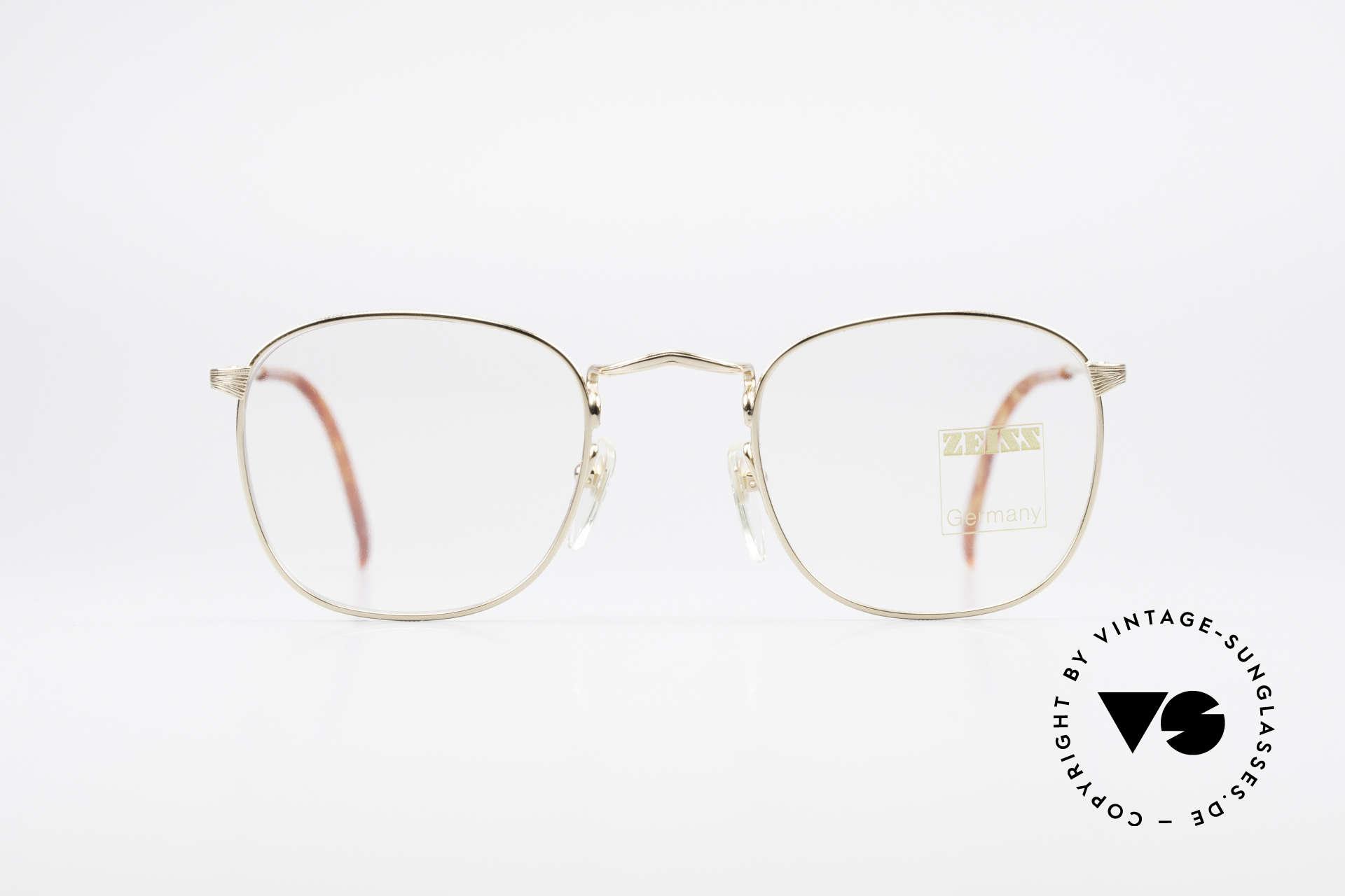 Zeiss 5988 Old Vintage 90's Glasses Men, outstanding craftsmanship - frame 'made in Germany', Made for Men