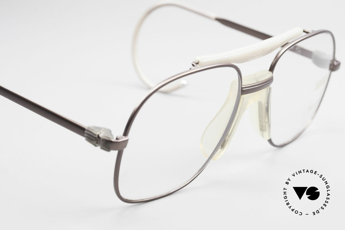 Zeiss 7037 80's Old School Sports Glasses, new old stock (like all our vintage ZEISS 80's specs), Made for Men