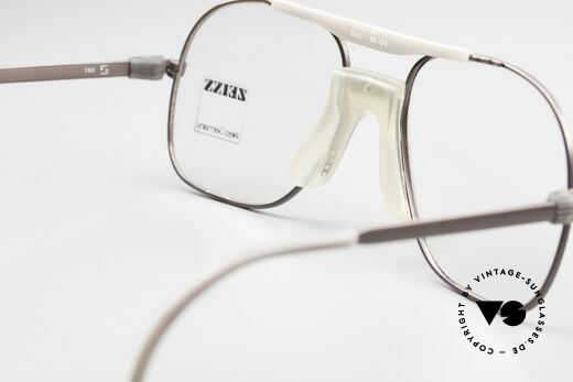 Zeiss 7037 80's Old School Sports Glasses, NO RETRO frame, but a rare old original from 1982!, Made for Men