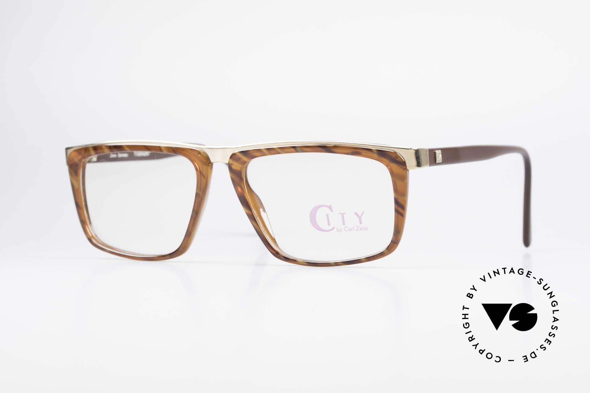 Zeiss 5967 90's Titanium Eyeglasses Men, vintage Zeiss titanium eyeglass-frame from app. 1990, Made for Men