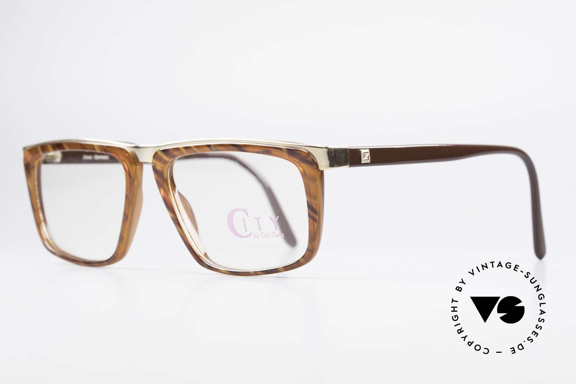Zeiss 5967 90's Titanium Eyeglasses Men, very elegant combination of materials, colors & forms, Made for Men