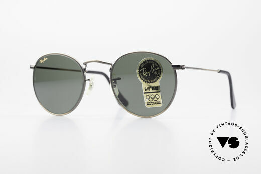 Ray Ban Round Metal 47 Small Round Vintage Shades Details