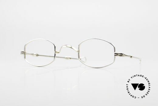 Lunor - Telescopic Extendable 16ct Real Gold Frame Details