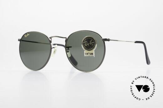 Ray Ban Round Metal 49 Round Vintage Sunglasses USA Details