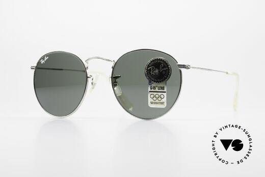Ray Ban Round Metal 49 Round Ray-Ban Sunglasses USA Details