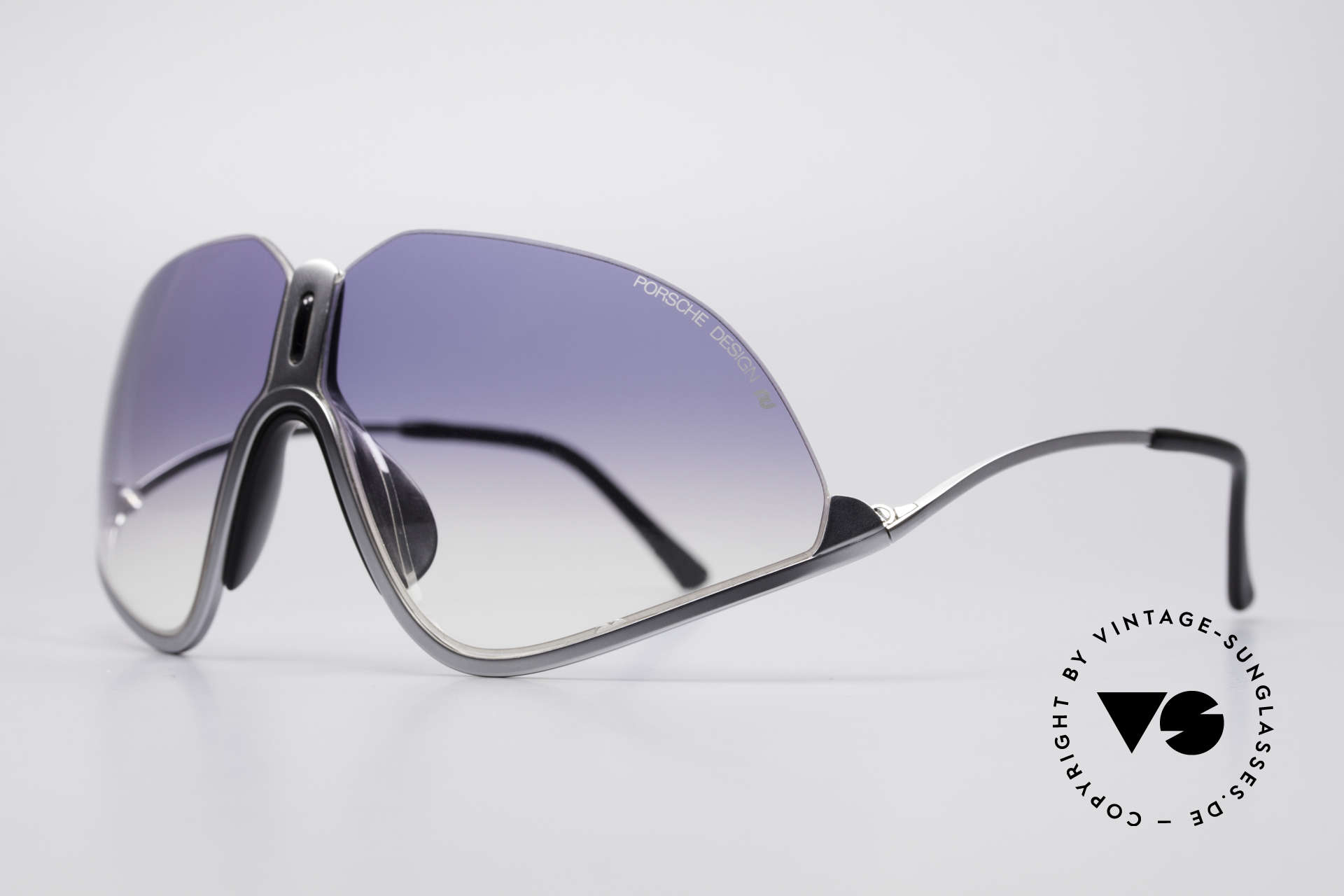 Porsche 5630 Designer Sports Shades 90's, upper frame edge without boundary (see the skyline), Made for Men