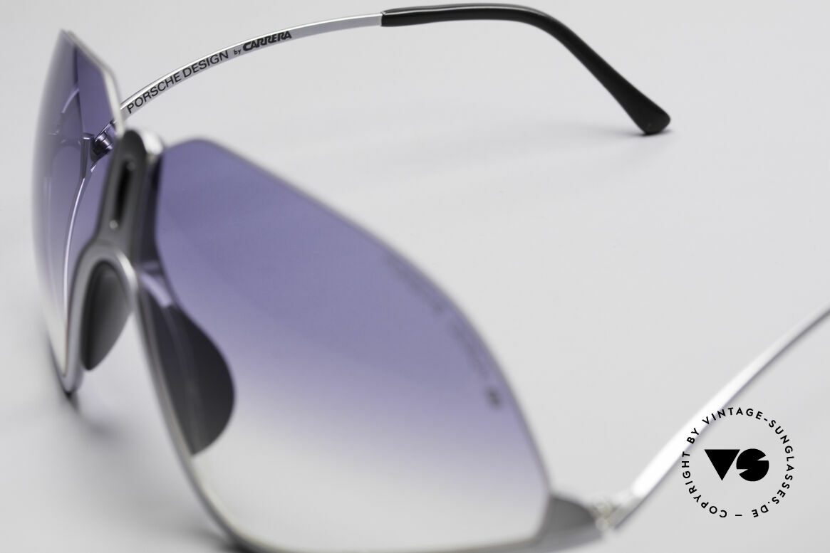 Porsche 5630 Designer Sports Shades 90's, perfect fit & high wearing comfort (ergonomic shape), Made for Men