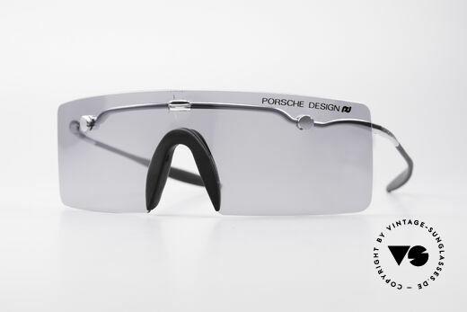 Porsche 5693 F09 Flat Shades Silver Mirrored Details