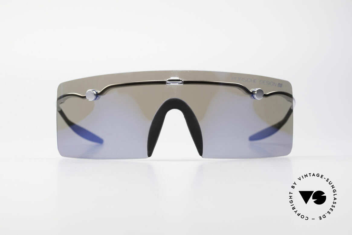 Porsche 5693 F09 Flat Shades Blue Mirrored