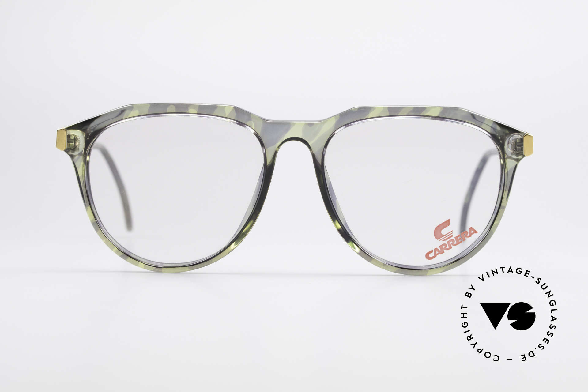 Carrera 5361 90's Optyl Panto Eyeglasses, high-end Optyl material frame; made in Germany, Made for Men