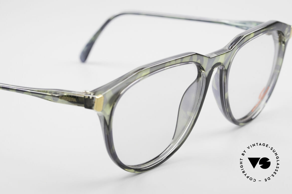 Carrera 5361 90's Optyl Panto Eyeglasses, NO RETRO; an unworn original + Movado pouch, Made for Men