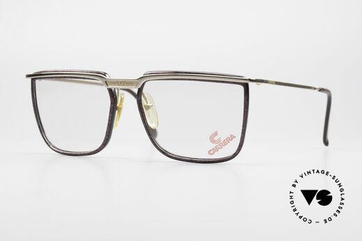 Carrera 5376 Square Vintage Carbon Frame Details
