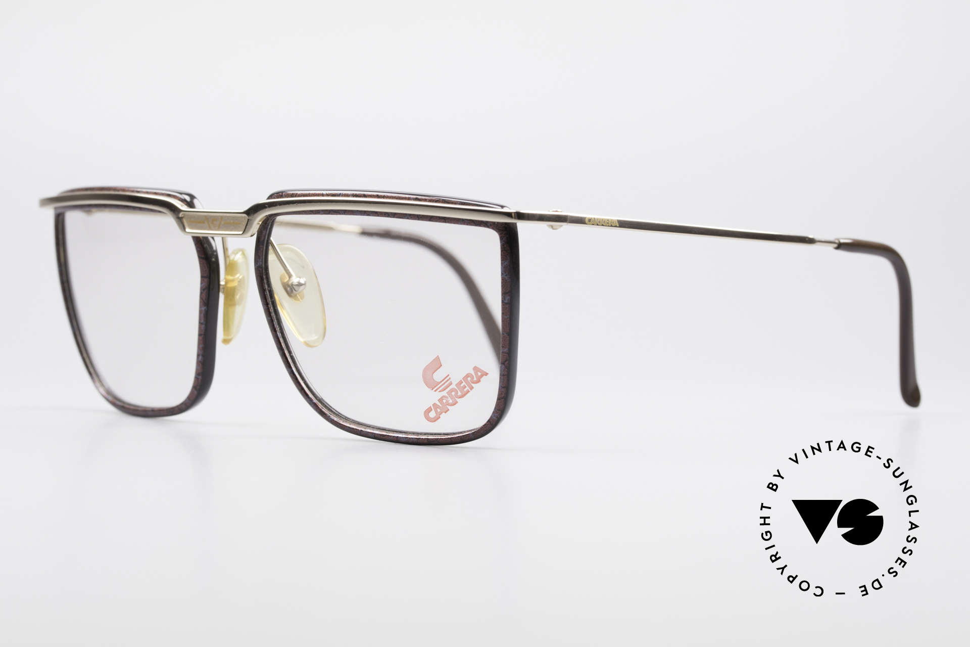 Carrera 5376 Square Vintage Carbon Frame, lightweight and accordingly pleasant to wear!, Made for Men