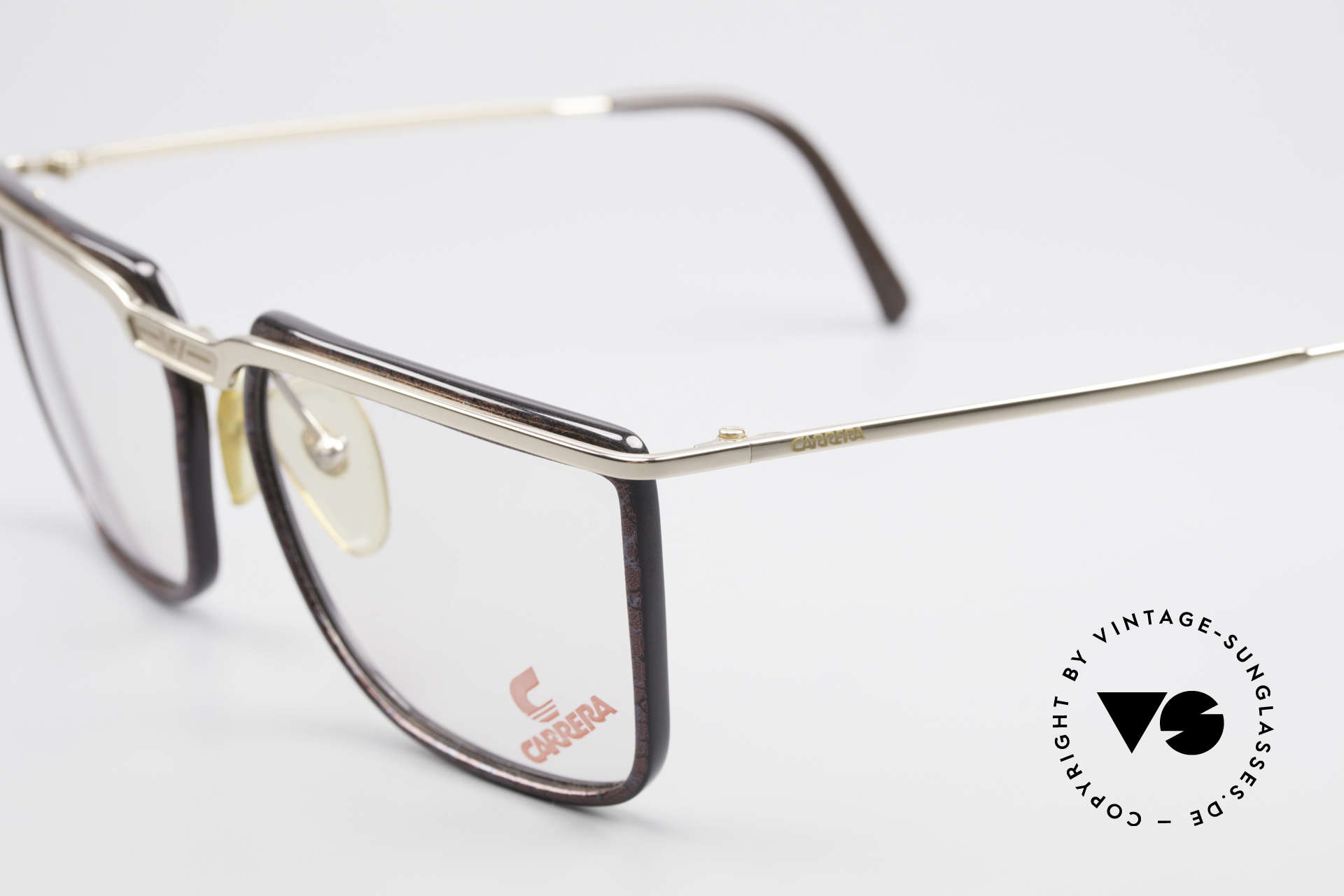 Carrera 5376 Square Vintage Carbon Frame, 1st class frame-coloring: purple/black-marbled, Made for Men