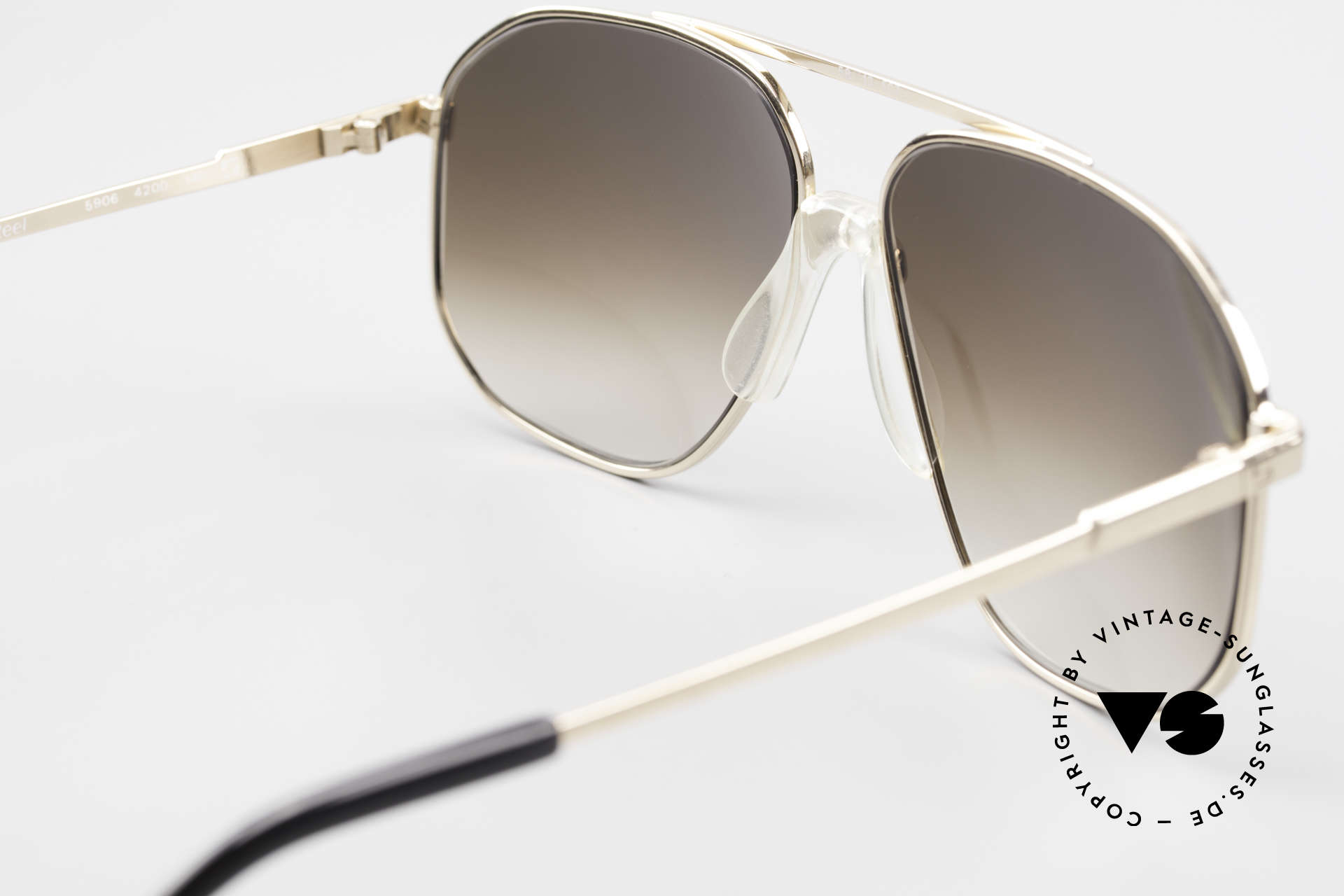 Zeiss 5906 Old 80's Quality Aviator Shades, NO RETRO fashion, but a rare 35 years old original, Made for Men