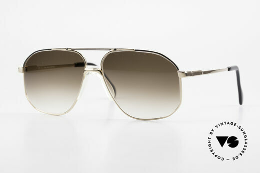 Zeiss 5906 Old 80's Quality Aviator Shades Details