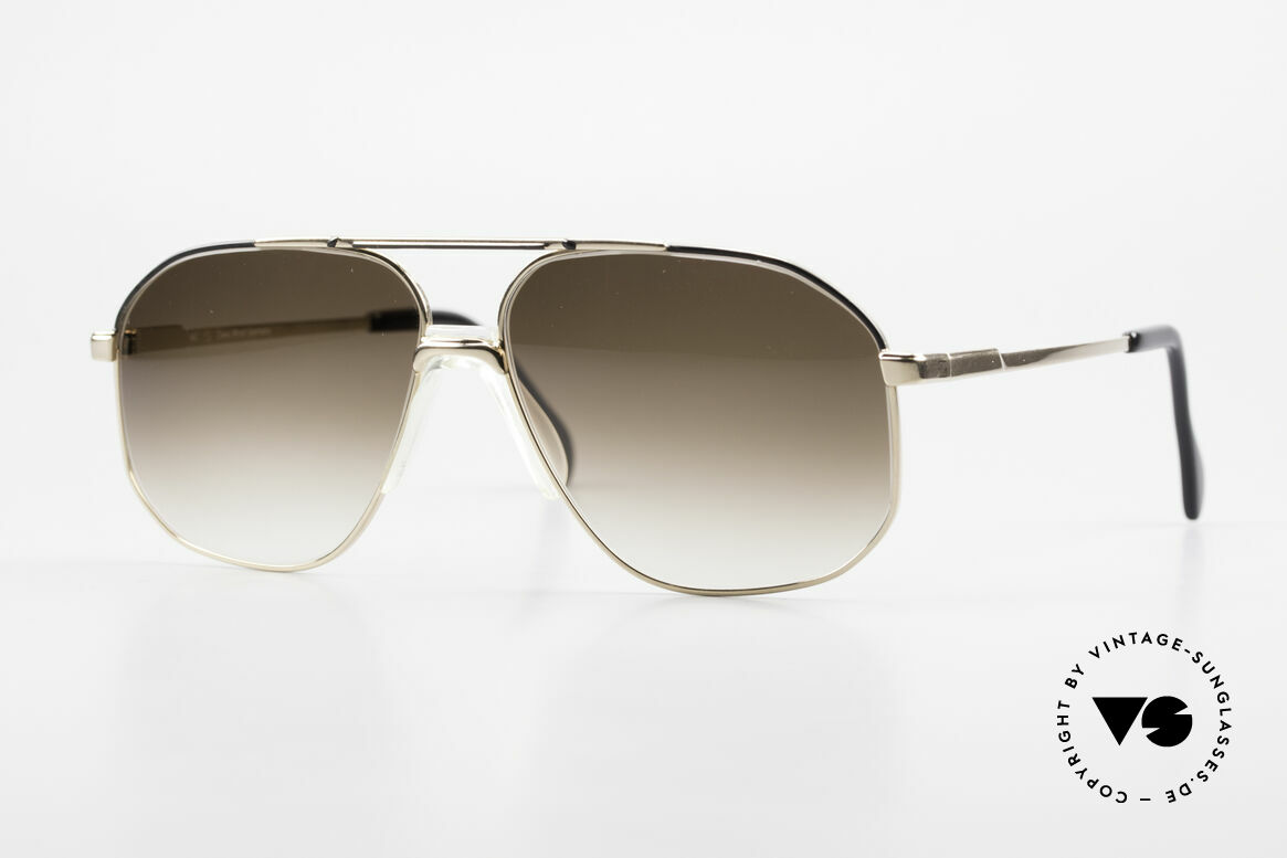 Zeiss 5906 Old 80's Quality Aviator Shades, old ZEISS West Germany 1980's vintage sunglasses, Made for Men