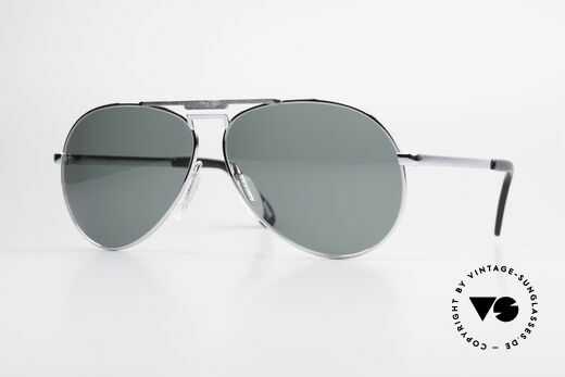 Zeiss 9075 XXL Vintage Men's Sunglasses Details