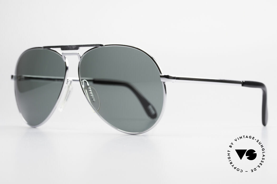 Zeiss 9075 XXL Vintage Men's Sunglasses, timeless coloring & design with new plastic sun lenses, Made for Men