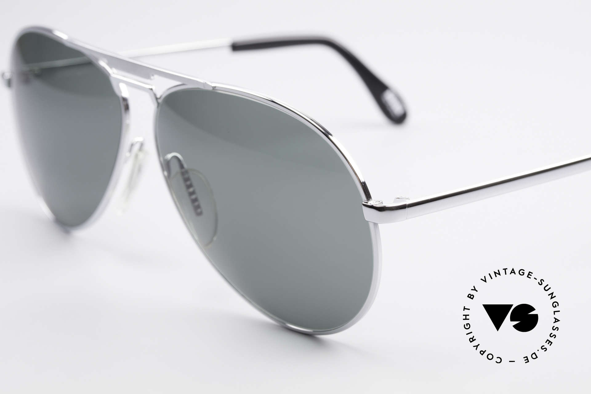 Zeiss 9075 XXL Vintage Men's Sunglasses, but in XX-LARGE size: the metal frame is 152mm wide, Made for Men