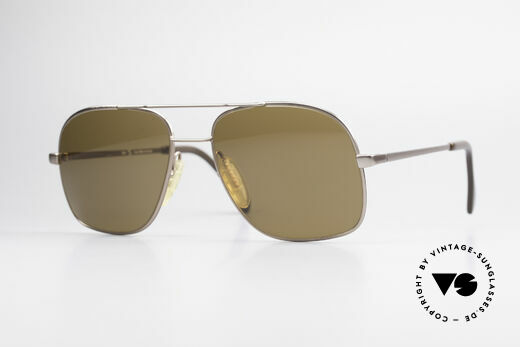 Zeiss 5375 80's West Germany Sunglasses Details