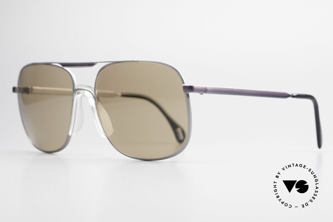 Zeiss 9311 Mineral Lenses 80s Sunglasses, monolithic design .. built to last .. You must feel this!, Made for Men