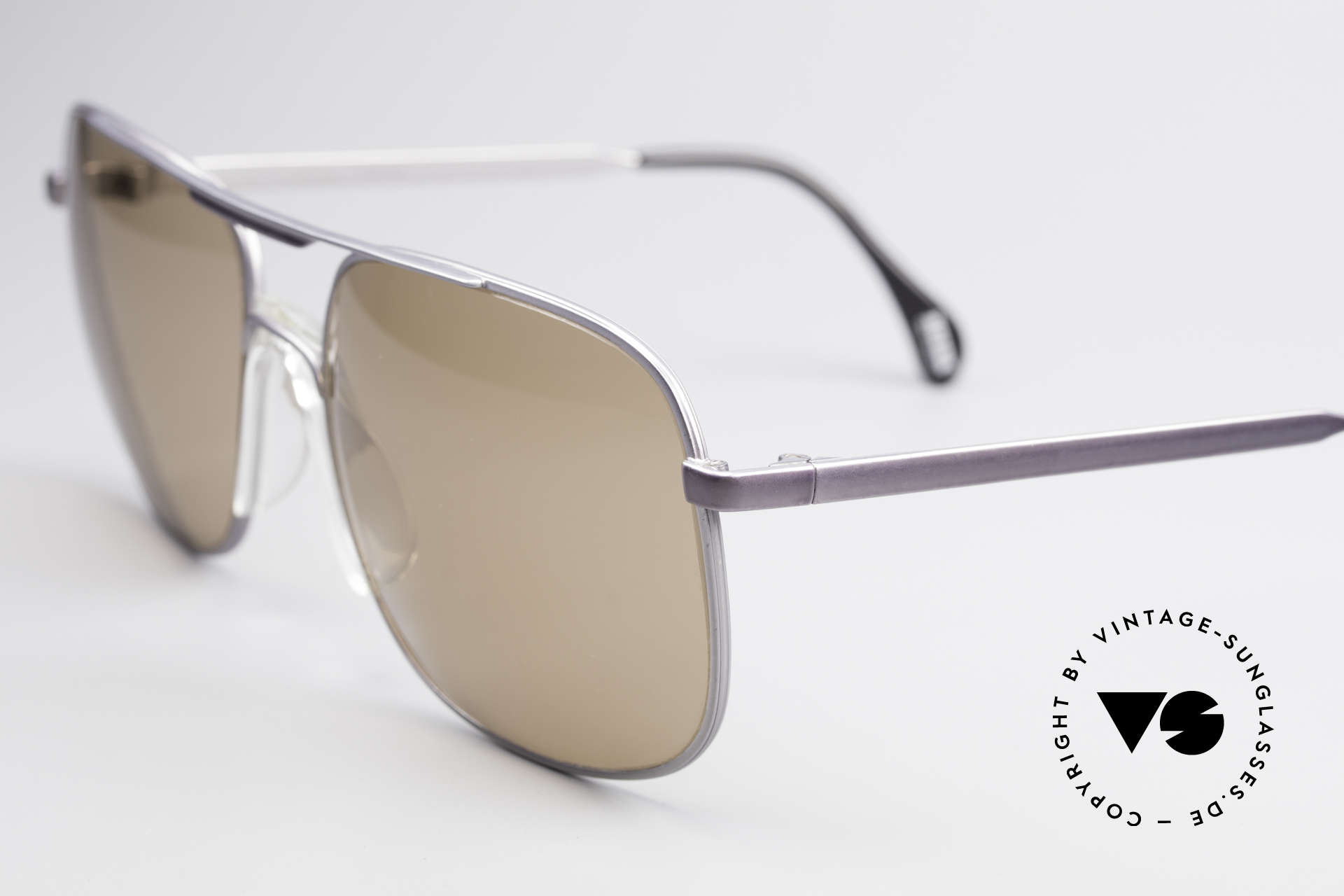 Zeiss 9311 Mineral Lenses 80s Sunglasses, high-end mineral lenses (scratch-resistant & 100% UV), Made for Men