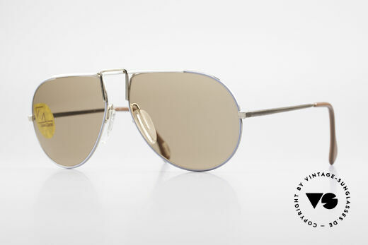 Zeiss 9357 Rare Aviator Sunglasses 80's Details