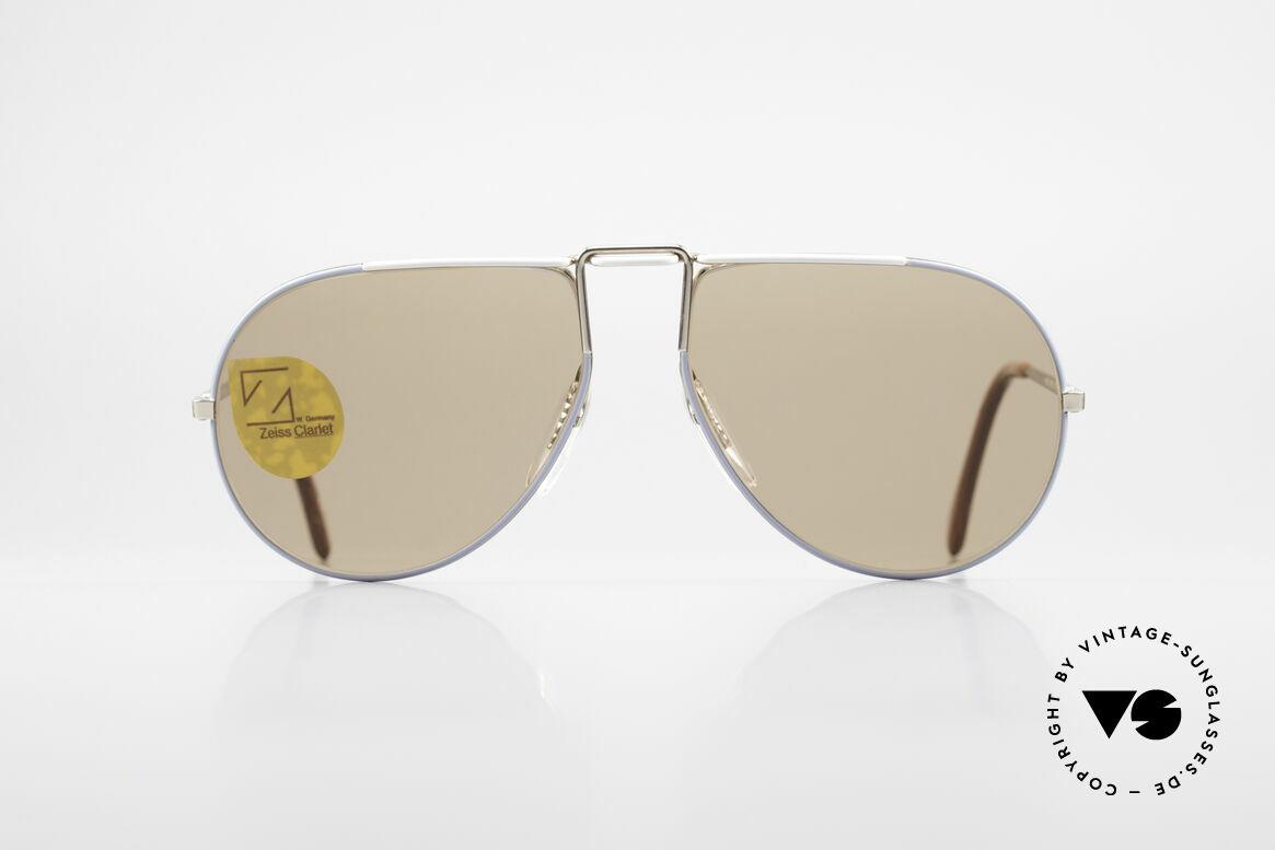 Zeiss 9357 Rare Aviator Sunglasses 80's, interesting aviator design (something different), Made for Men and Women