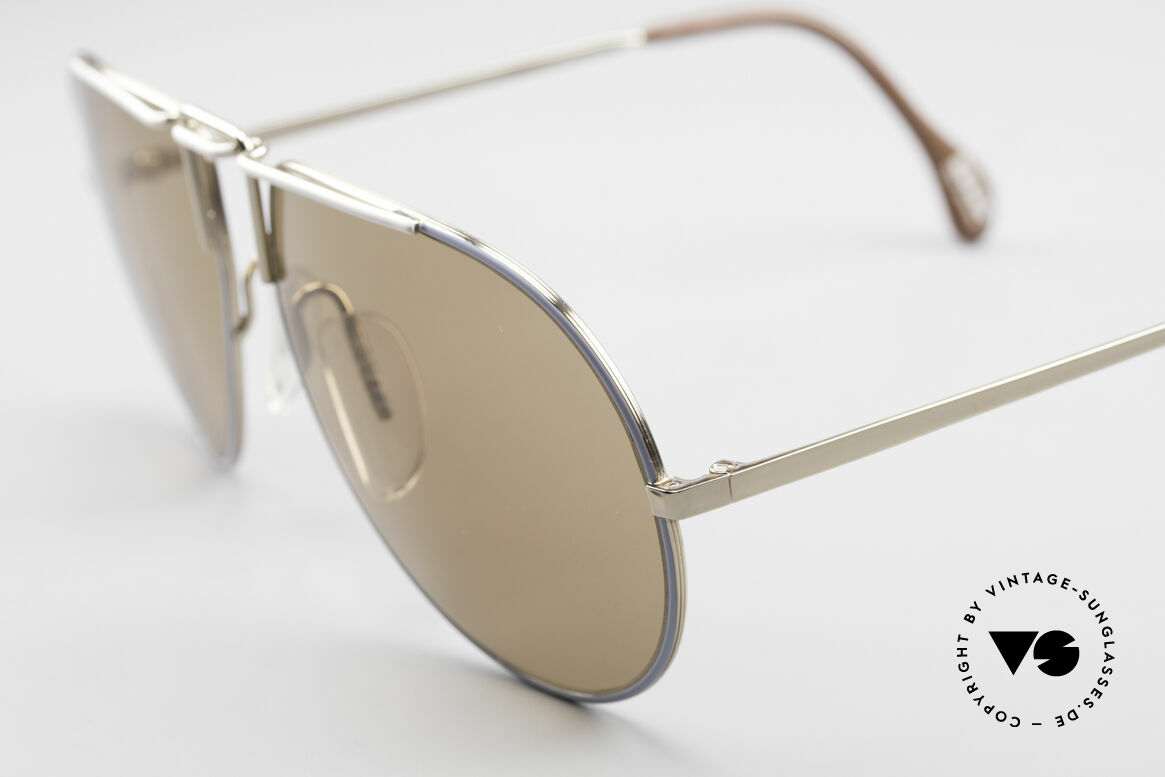 Zeiss 9357 Rare Aviator Sunglasses 80's, world famous ZEISS mineral lenses (high-end!), Made for Men and Women