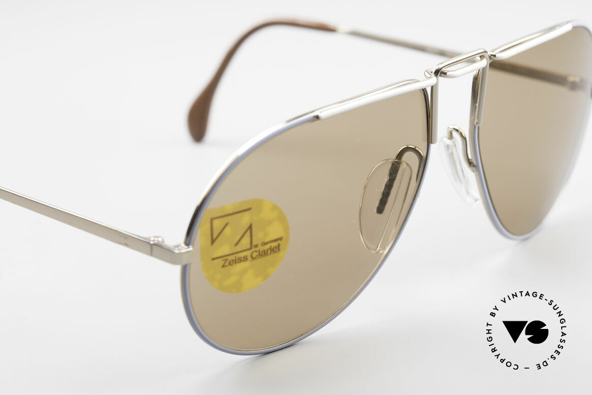 Zeiss 9357 Rare Aviator Sunglasses 80's, unworn (like all our VINTAGE Zeiss sunglasses), Made for Men and Women