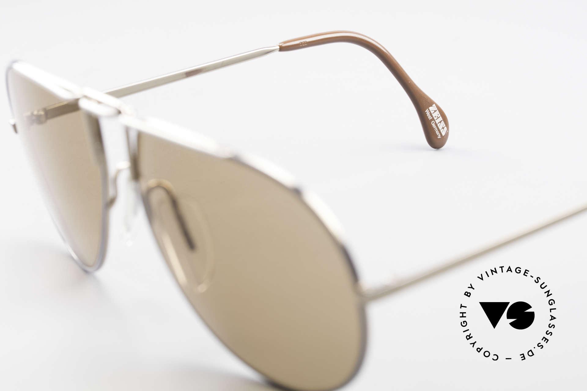 Zeiss 9357 Rare Aviator Sunglasses 80's, NO RETRO shades, but a rare old 80's Original!, Made for Men and Women