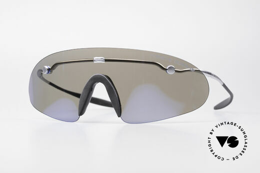 Porsche 5692 F09 Flat Shades Blue Mirrored Details