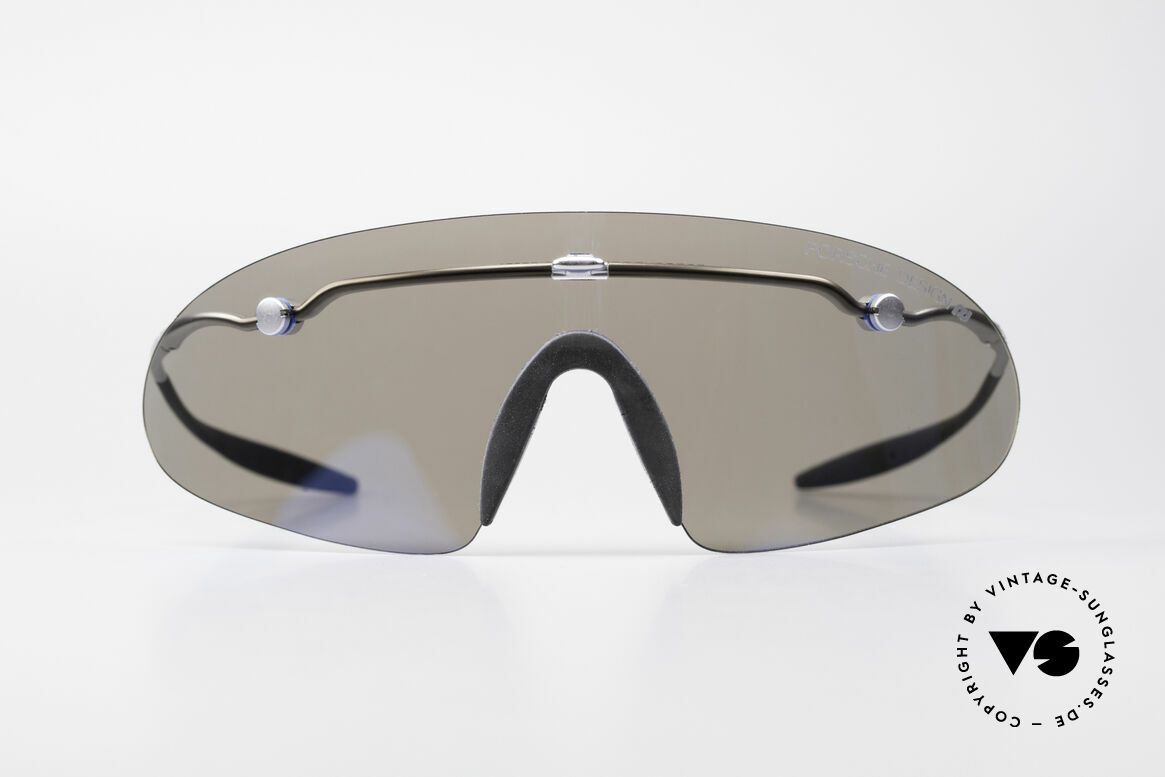 Porsche 5692 F09 Flat Shades Blue Mirrored, high performance, foldable Porsche Carrera sport-shades, Made for Men