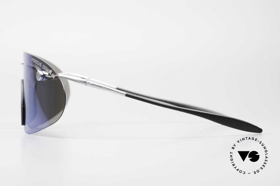 Porsche 5692 F09 Flat Shades Blue Mirrored, ultra rare Porsche Design vintage model from app. 1995, Made for Men