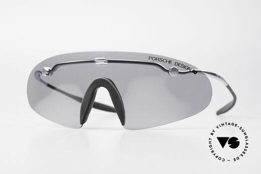 Porsche 5692 F09 Flat Shades Silver Mirrored Details
