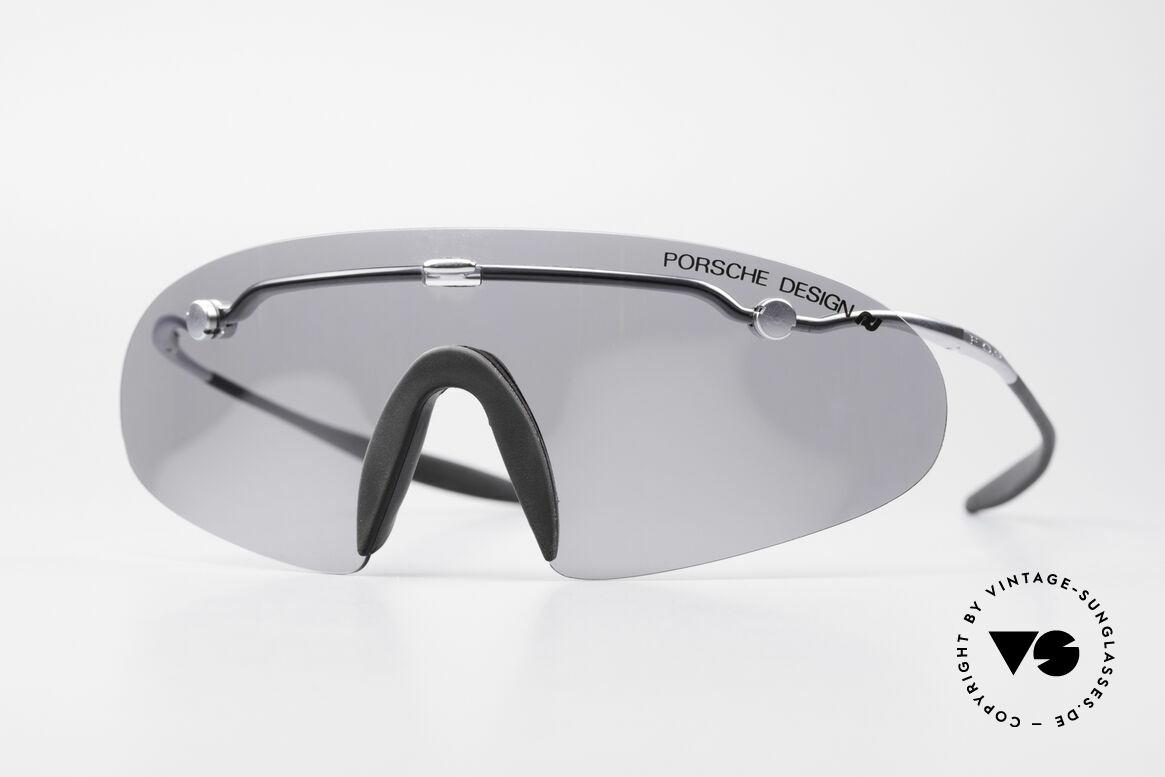 Porsche 5692 F09 Flat Shades Silver Mirrored, Porsche Design by Carrera 5692 70 6750 'S' F0.9 Glasses, Made for Men