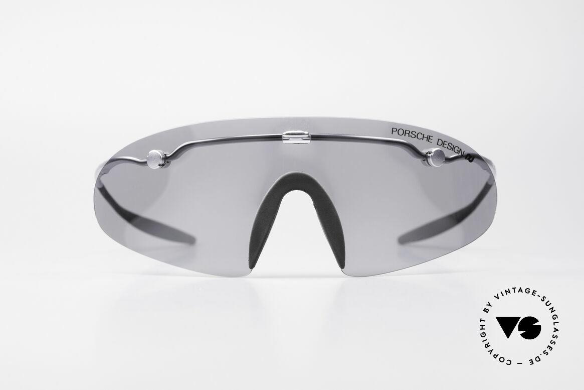 Porsche 5692 F09 Flat Shades Silver Mirrored, high performance, foldable Porsche Carrera sport-shades, Made for Men