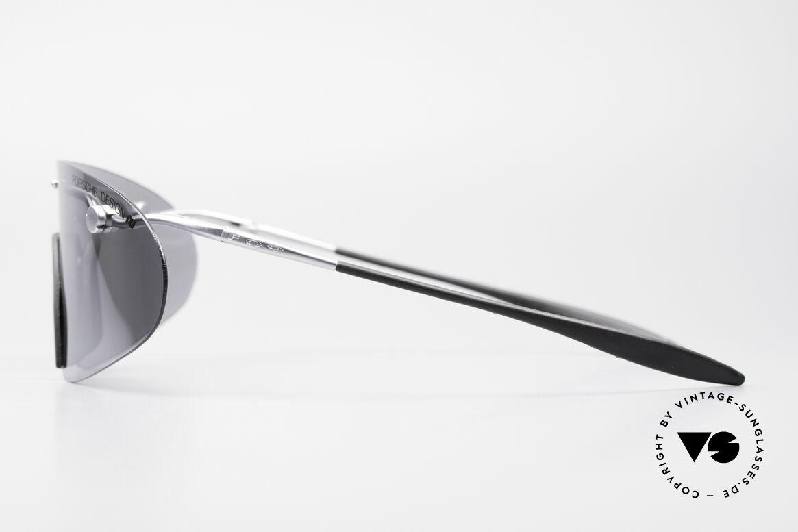 Porsche 5692 F09 Flat Shades Silver Mirrored, ultra rare Porsche Design vintage model from app. 1995, Made for Men