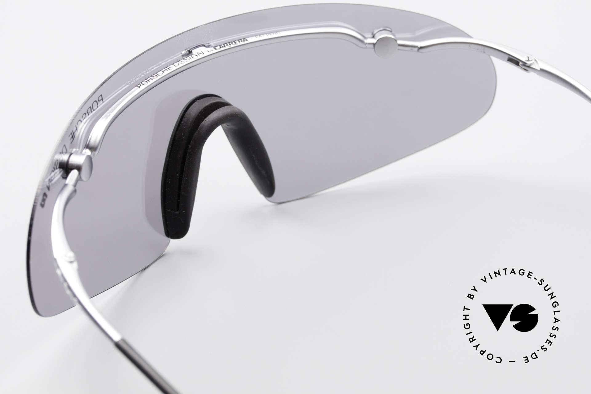 Porsche 5692 F09 Flat Shades Silver Mirrored, NO RETRO sunglasses, but a genuine unworn ORIGINAL!, Made for Men