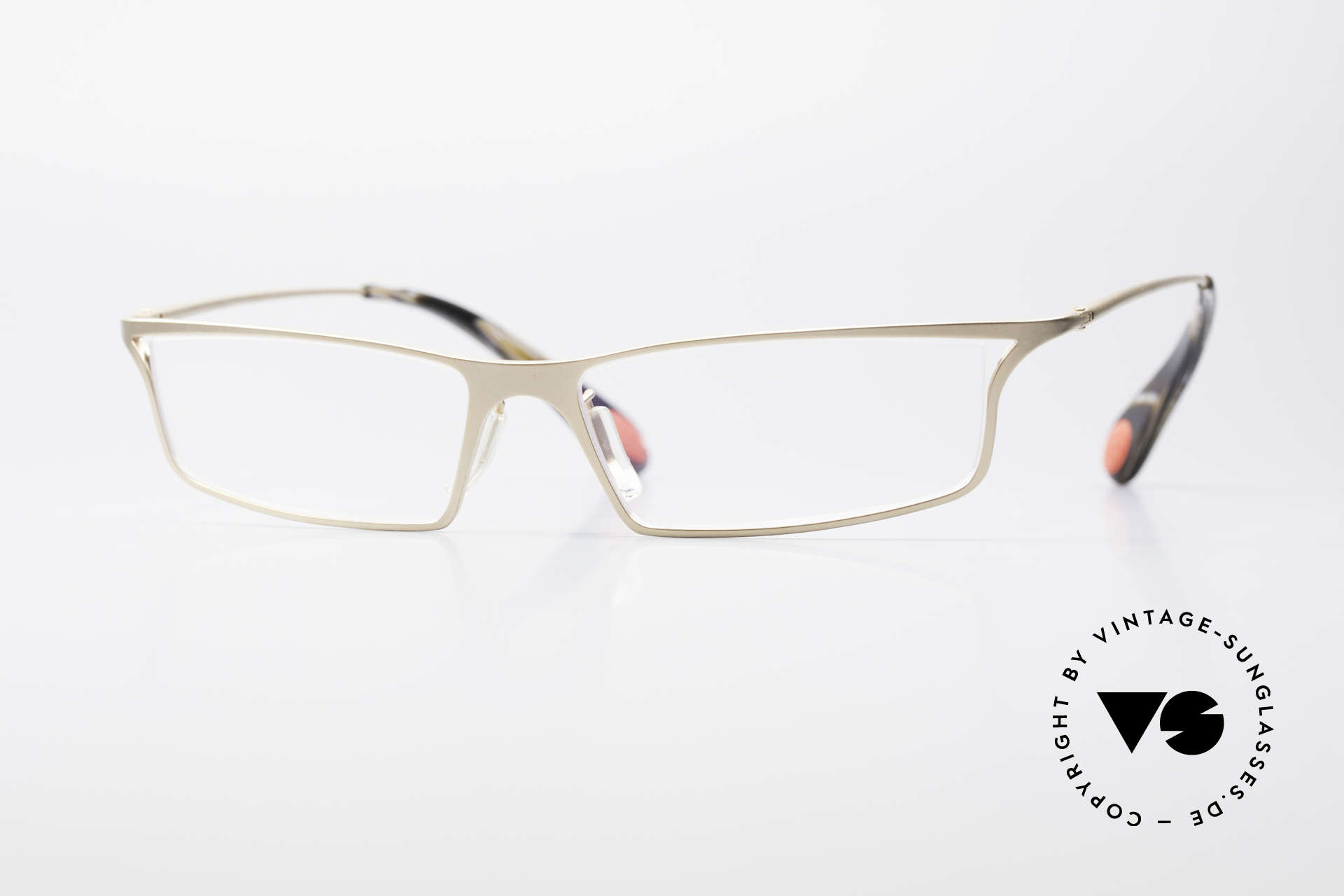 Bugatti 352 Odotype Striking Men's Designer Frame, original BUGATTI high-tech eyeglass-frame, Made for Men