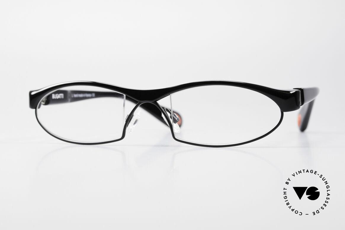 Bugatti 370 Odotype High-End Men's Designer Frame, original BUGATTI high-tech eyeglass-frame, Made for Men