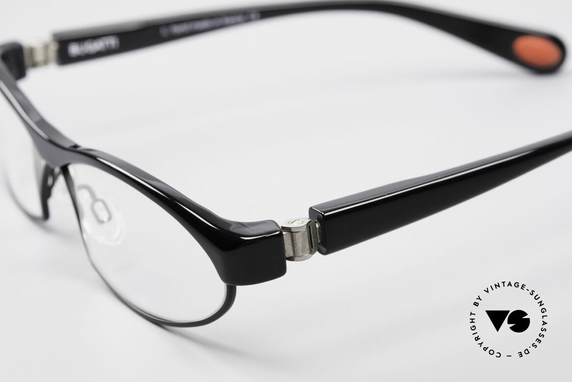Bugatti 370 Odotype High-End Men's Designer Frame, very special lens construction; TOP comfort, Made for Men